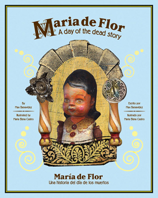 Children's Bilingual Book Review: Maria de Flor -- A sweet story about the preservation of love across generations and the meaning of the Day of the Dead, a special time of bittersweet remembrance and family traditions.