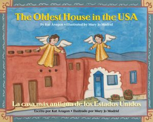 Children's Bilingual Book Review: The Oldest House in the USA -- The oldest house in the USA was probably built in the thirteenth century. Over time it has been home to many different people and perhaps most famously, a ghost or two.
