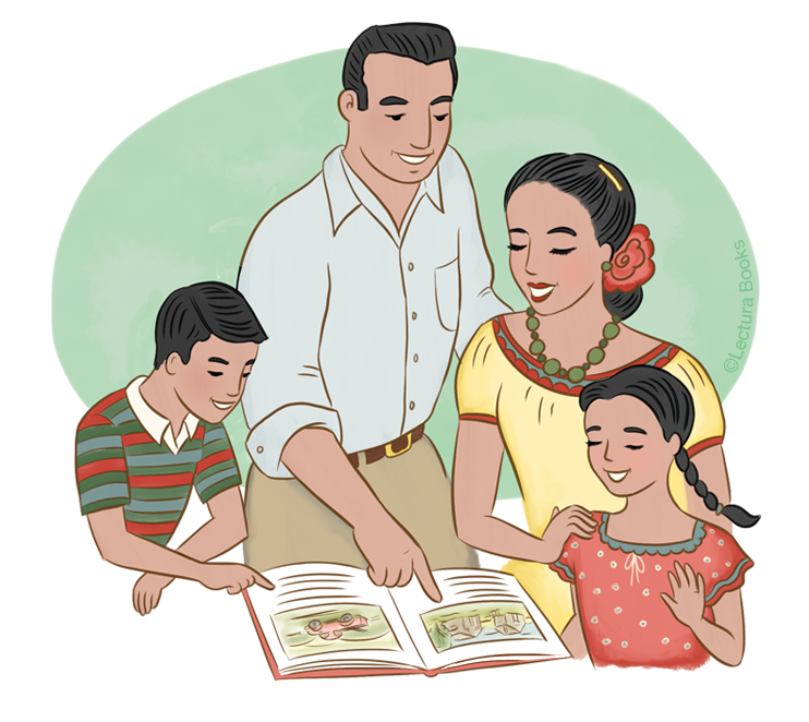 Lectura Books publishes bilingual books for bilingual Parent Involvement and are offered by The Latino Family Literacy Project, which requires staff development for effective implementation.
