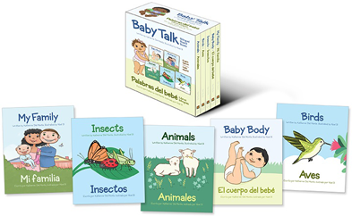 Children's Bilingual Book -- Baby Talk Bilingual Board Books