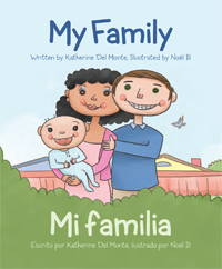 Children's Bilingual Book -- Baby Talk Bilingual Board Books My Family