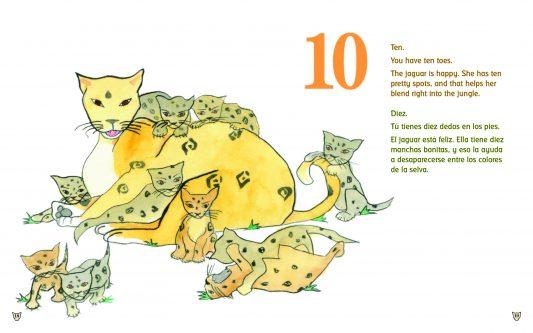 Spanish Books for Teaching Preschool Children English Skills