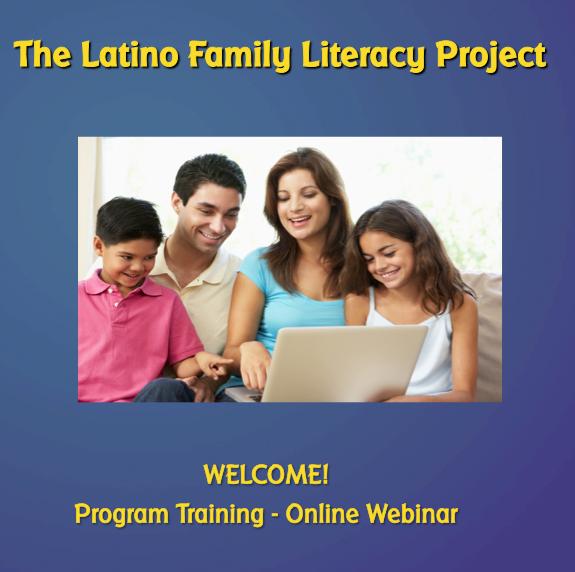Staff Development Webinars for Parent Involvement Programs
