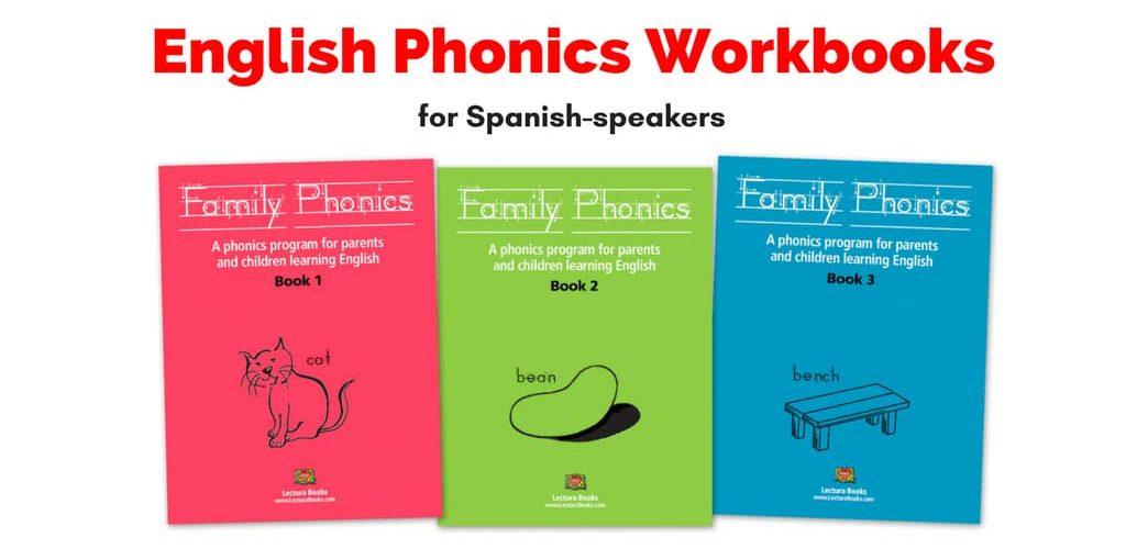 Family Phonics books for Spanish speaking parents