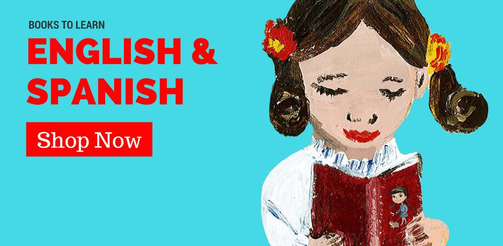 Spanish and English children's books